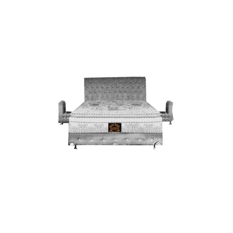 Bed Pro Premium + Meja Samping (6kaki) di zahra bangunan