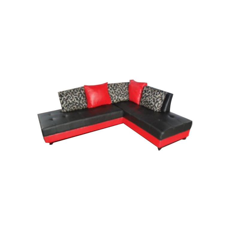 sofa moscino black red di zahra bangunan