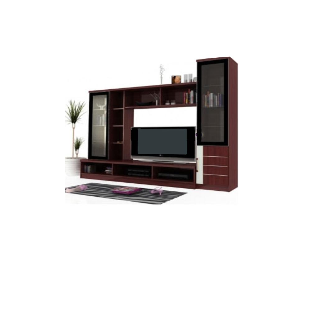 olympic lemari hias mahogani lhs 019509